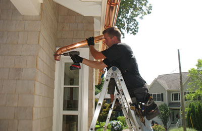 Gutter installation in Havertown